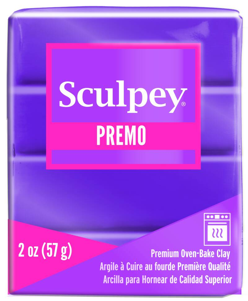 Sculpey Premo -- Purple Pearl (5031)