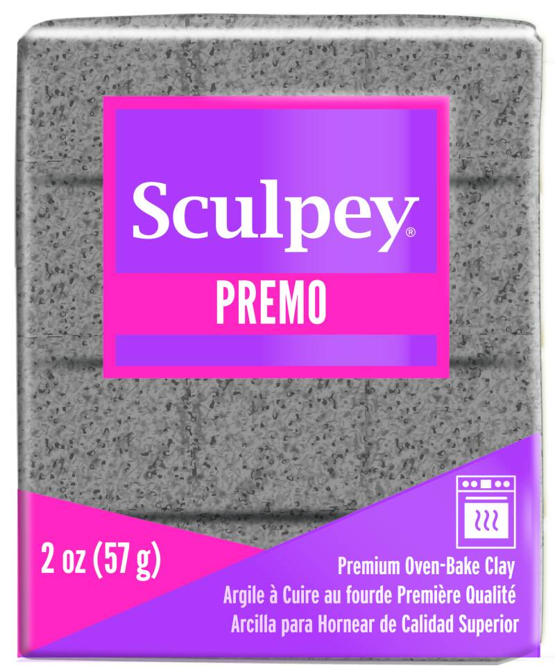 Sculpey Premo -- Gray Granite (5065)