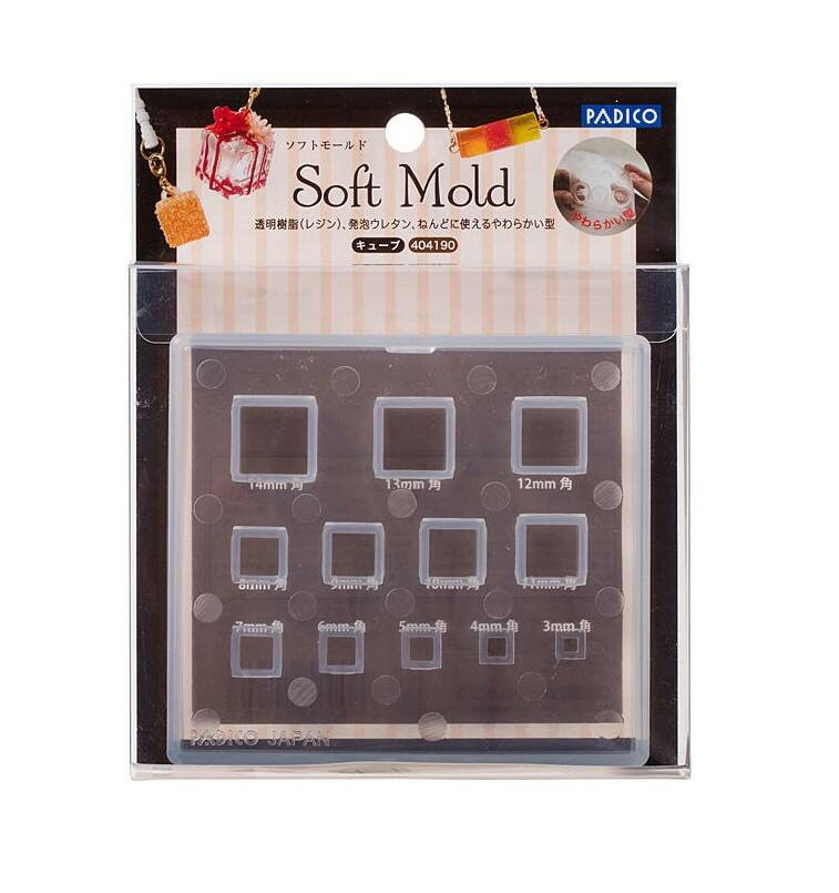Soft mold Cube ML190