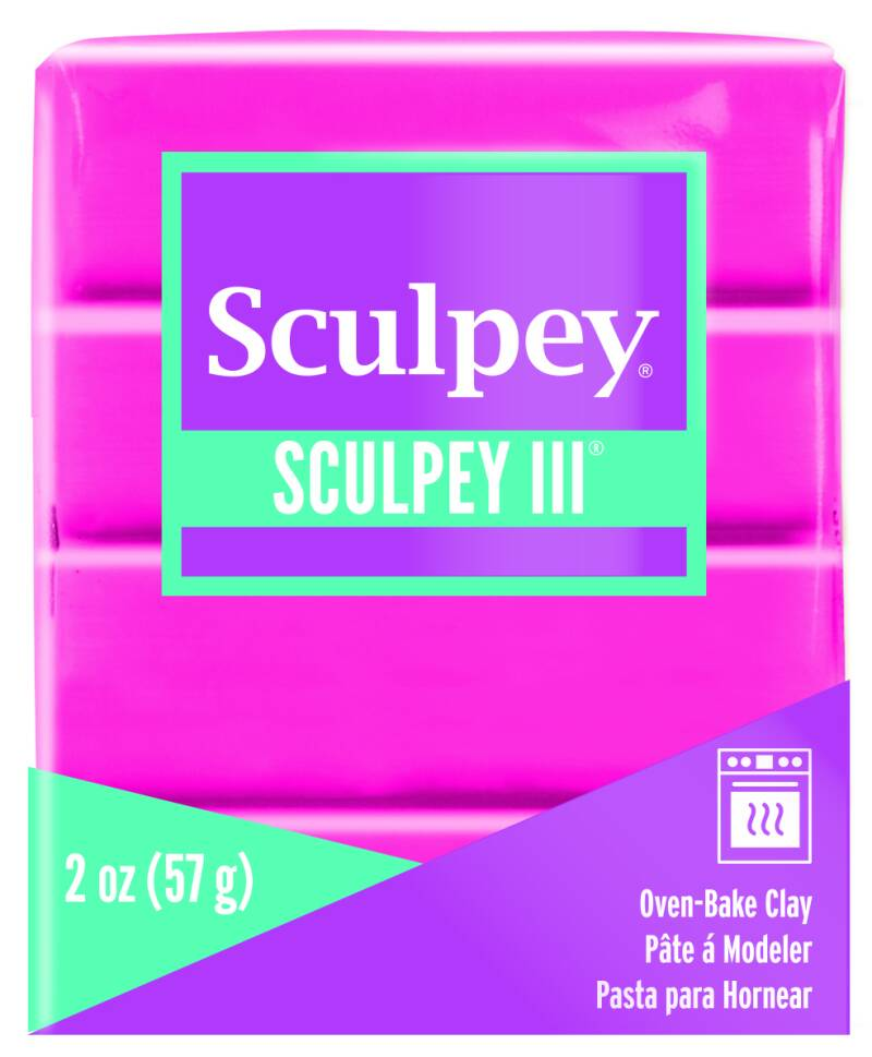 Sculpey III -- Candy Pink (1142)