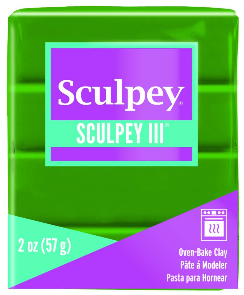 Sculpey III -- Leaf Green (322)