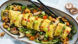 Thaise courgette noedels
