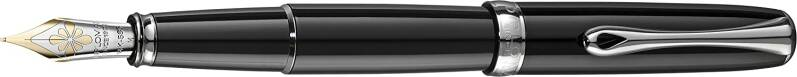 Diplomat, Excellence A Black Lacquer, Fountain,  D40202015