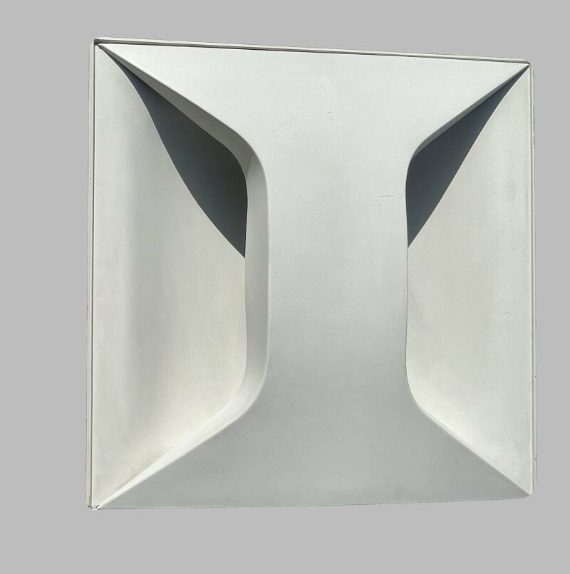 Staff Oyster panel sconce by Dieter Witte
