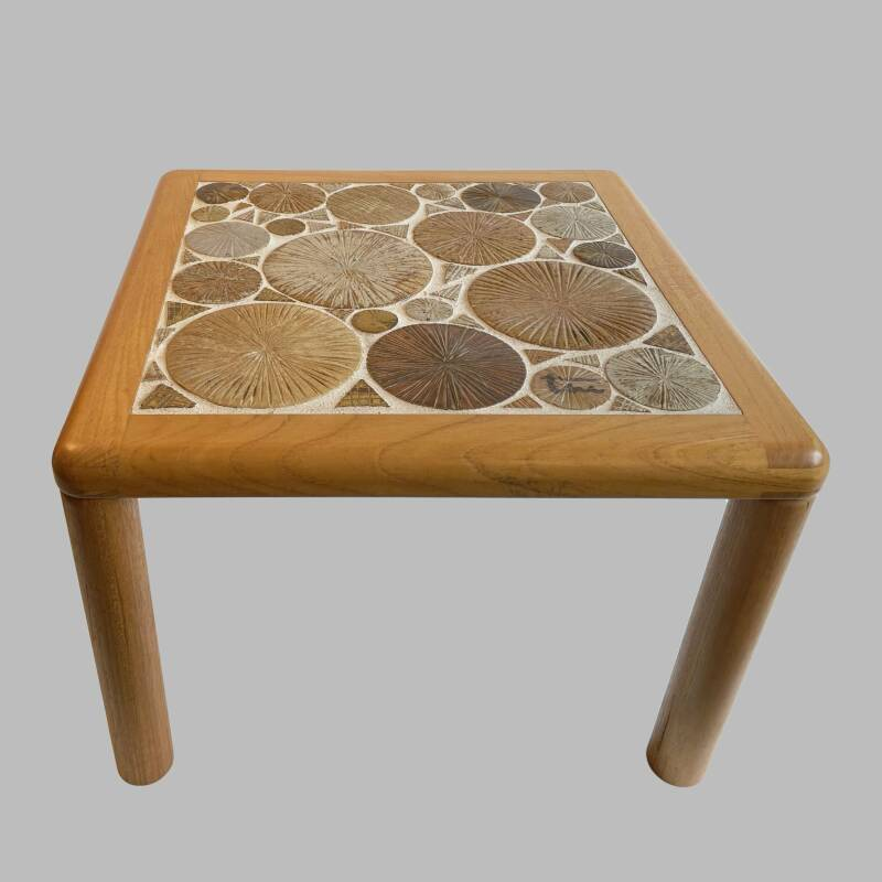 ceramic art coffee table by Tue Poulsen for Haslev