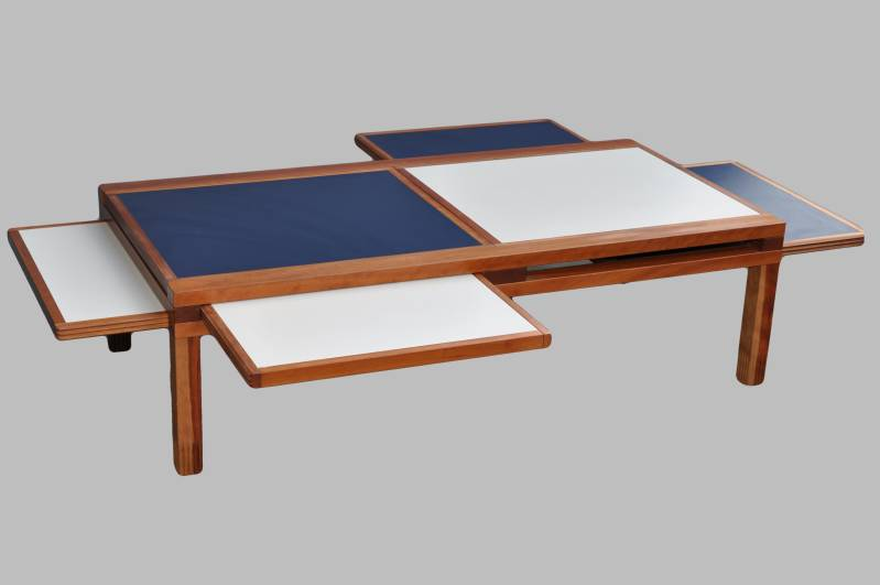 Hexa coffee table by Bernard Vuarnesson for Bellato Int.