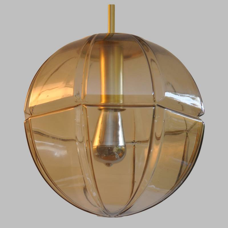 Peill and Putzler glass hanging lamp