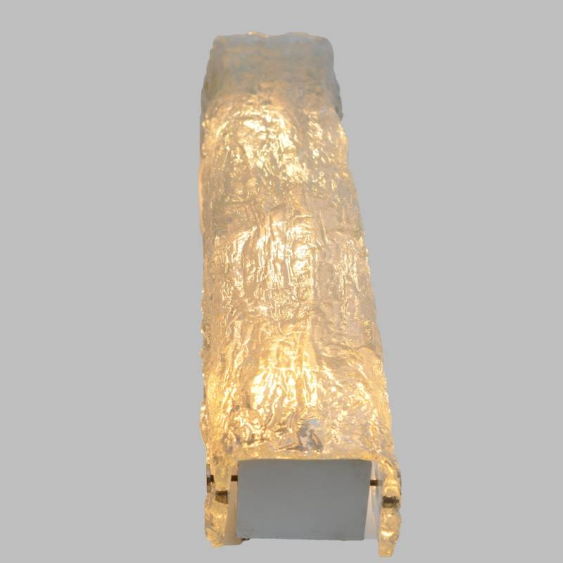 Kaiser Leuchten ice glass wall lamp