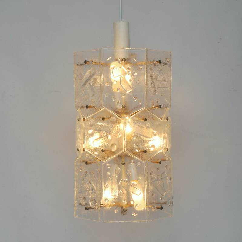 Architectural German ceiling light, TWELVE available