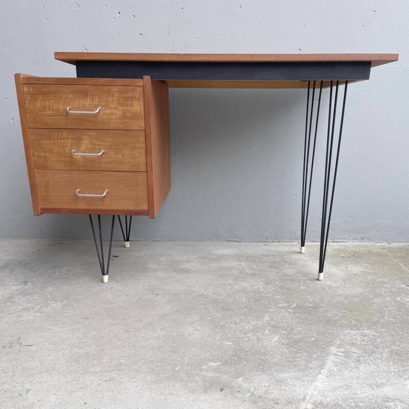 Hairpin desk by Cees Braakman for Pastoe