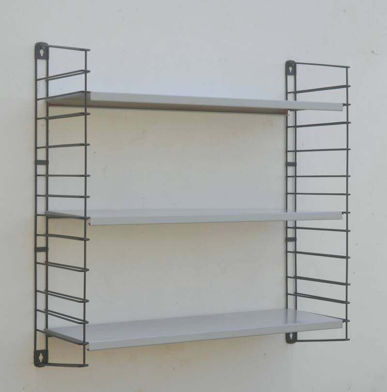 Tomado book rack grey
