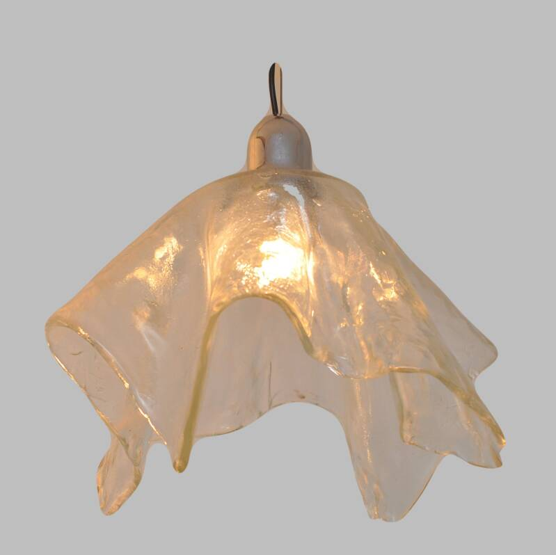 heavy glass hanging light