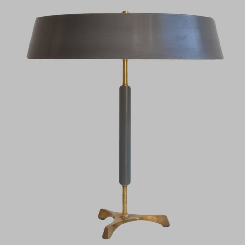 danish modern tripod table lamp
