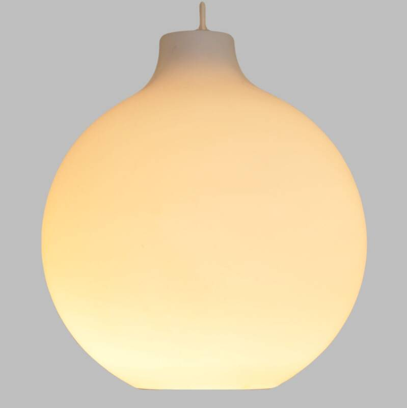 Glass hanging light, model Satellite by Vilhelm Wohlert for Poulsen, eight available