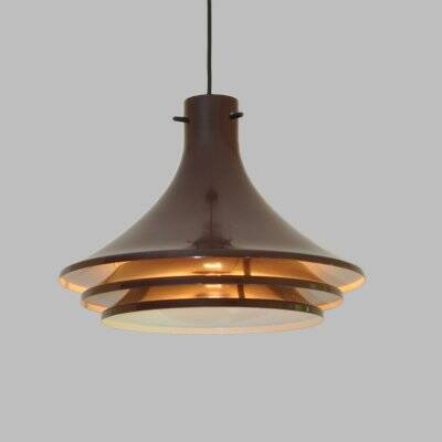 """""""Svera"""" hanging lamp by Hans-Agne Jakobsson for  Markaryd, in yellow"""