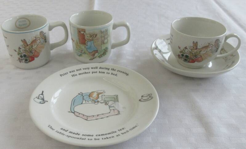 S0010 Serviesgoed Peter Rabbit Wedgwood Engels