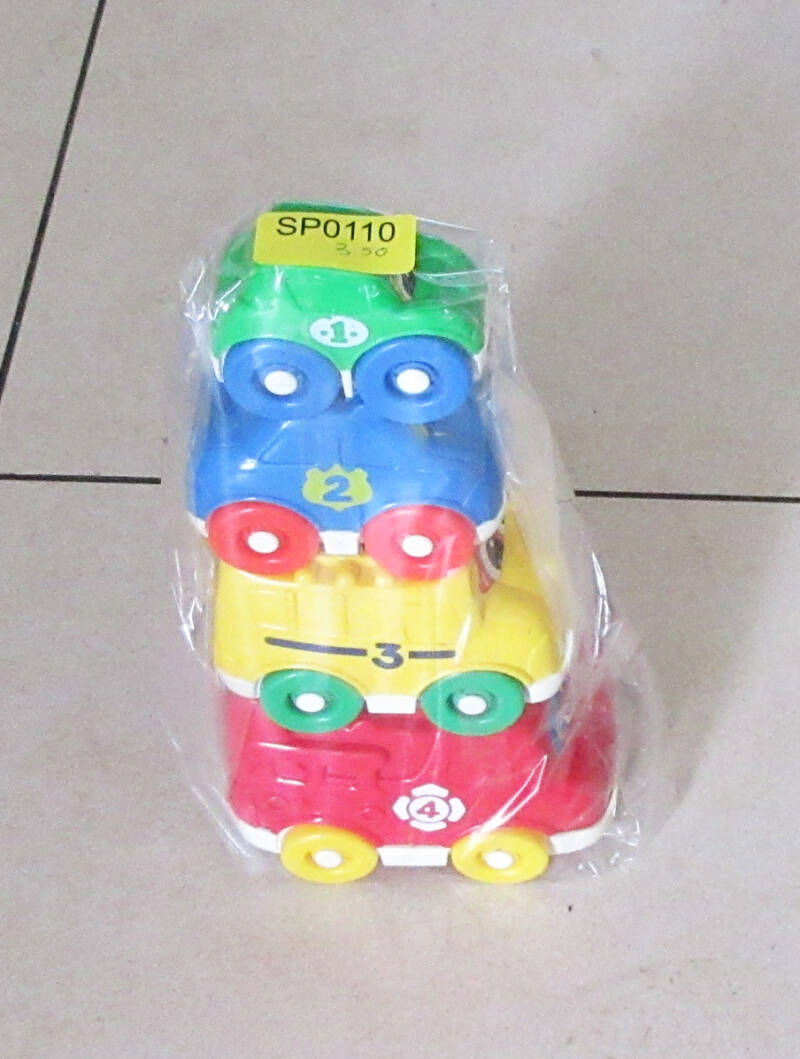 SP0110 Stapel auto's, Fisher Price