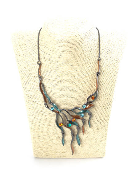 Waterval ketting multi colour