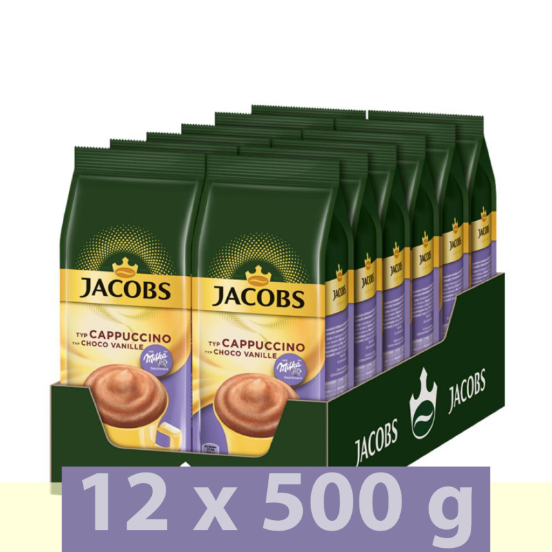 Jacobs Momente Choco Vanille Cappuccino 6kg