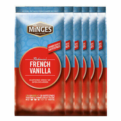 Minges French Vanille Kaffeepads 108x