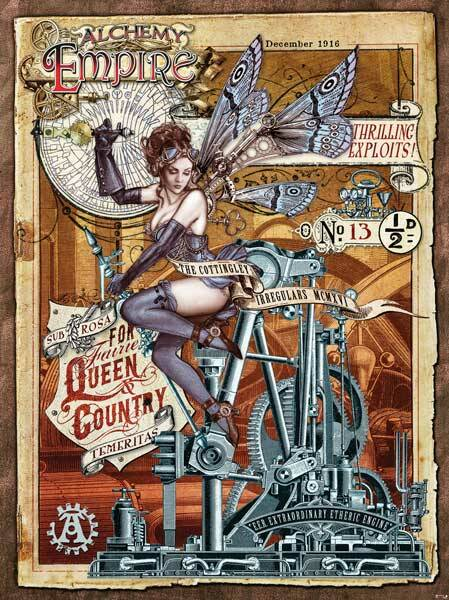 Fotobehang Alchemy Empire - For Fairie Queen and Country - 184 x 254 cm