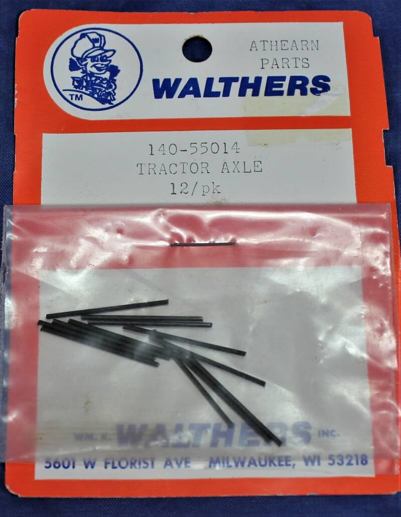 Walthers 1/87 H0 140-55014 Athearn parts USA trucks (Tractor axle).