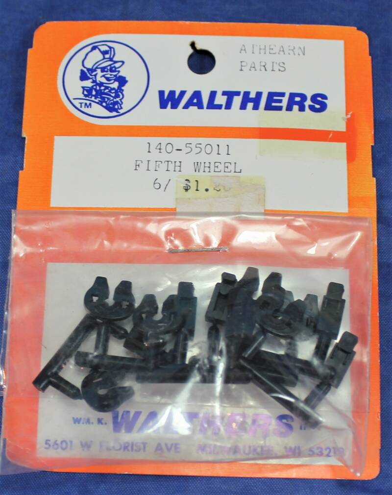 Walthers 1/87 H0 140-55011 Athearn parts USA trucks (fifth wheel).