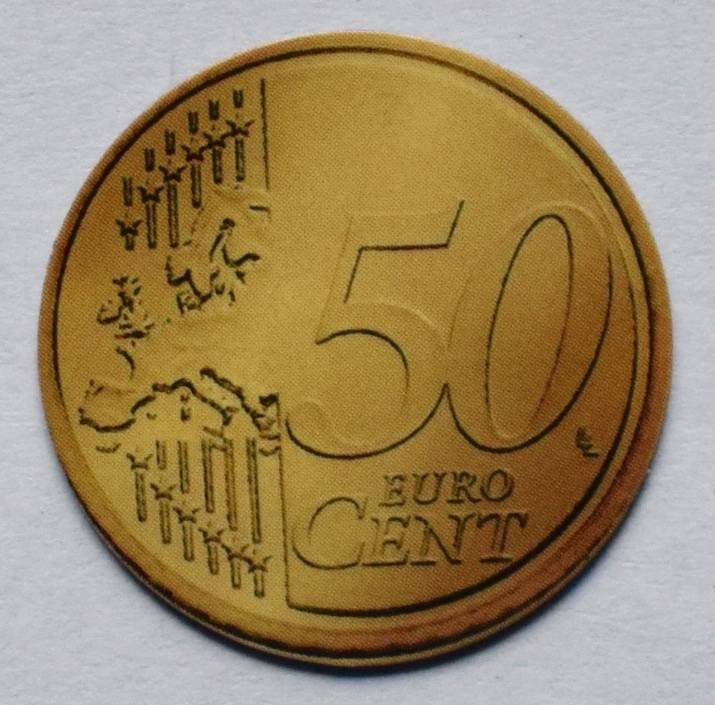 Jegro serie 6, 50 euro cent.