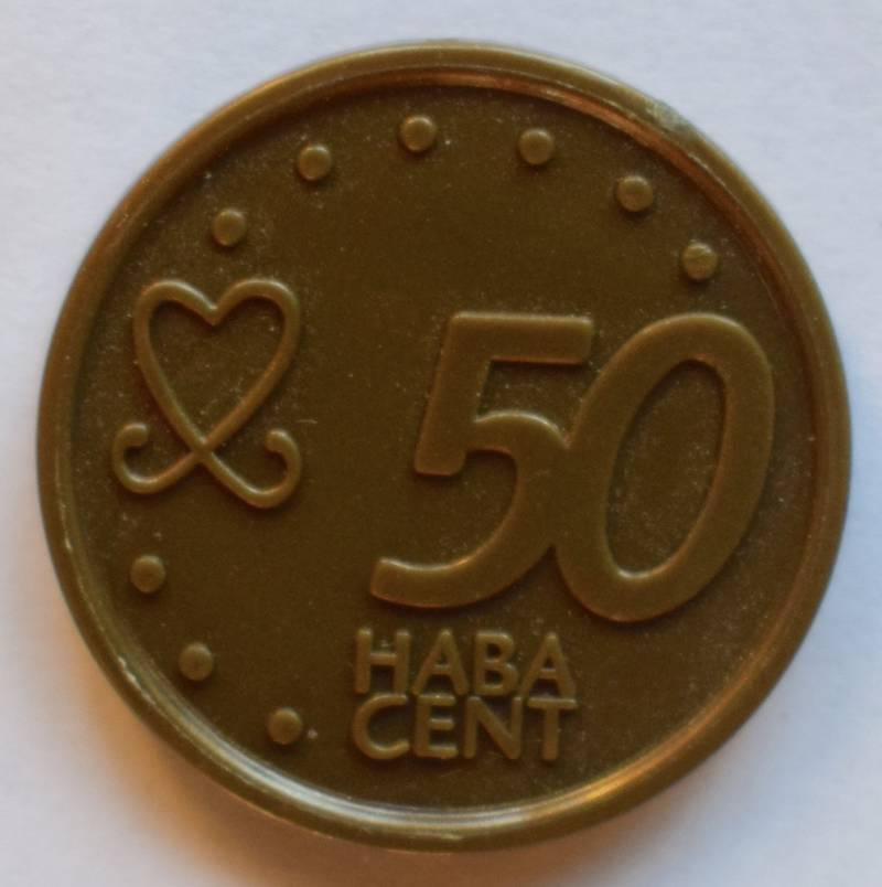Haba serie 8, 50 euro cent.