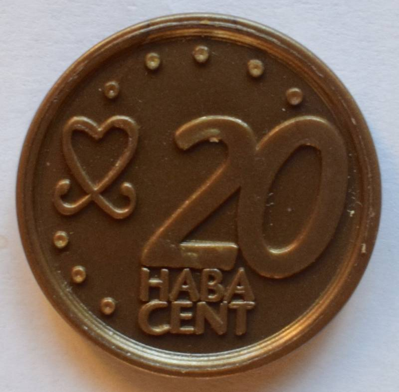 Haba serie 8, 20 euro cent.