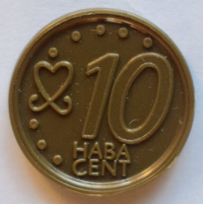 Haba serie 8, 10 euro cent.