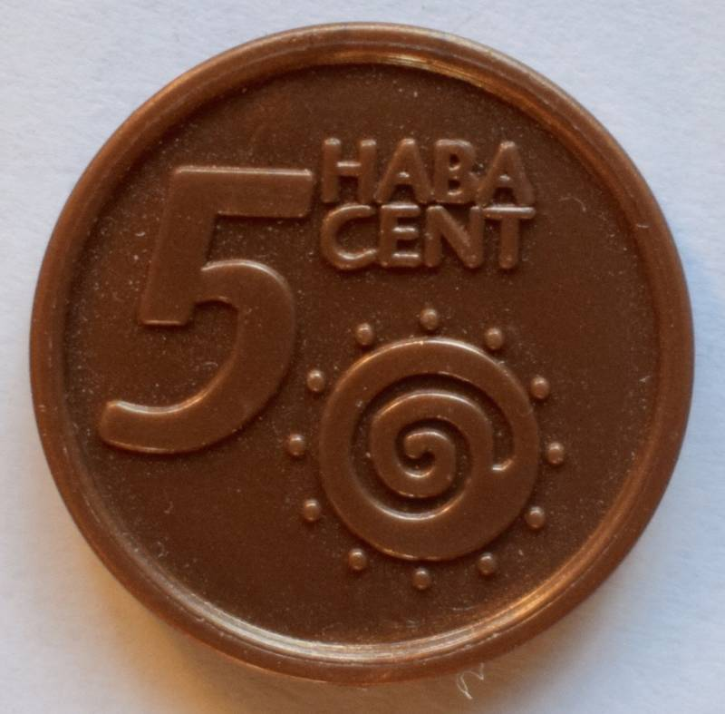 Haba serie 8, 5 euro cent.