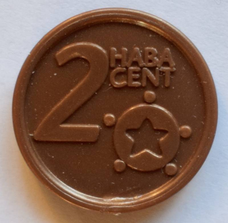 Haba serie 8, 2 euro cent.
