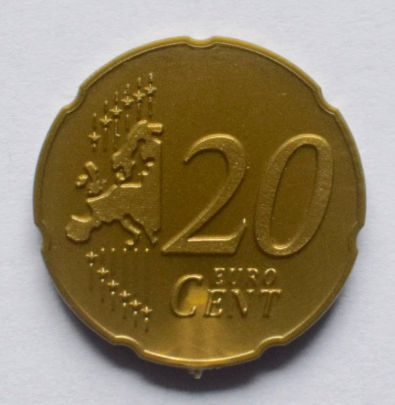 Jegro serie 4, 20 euro cent.