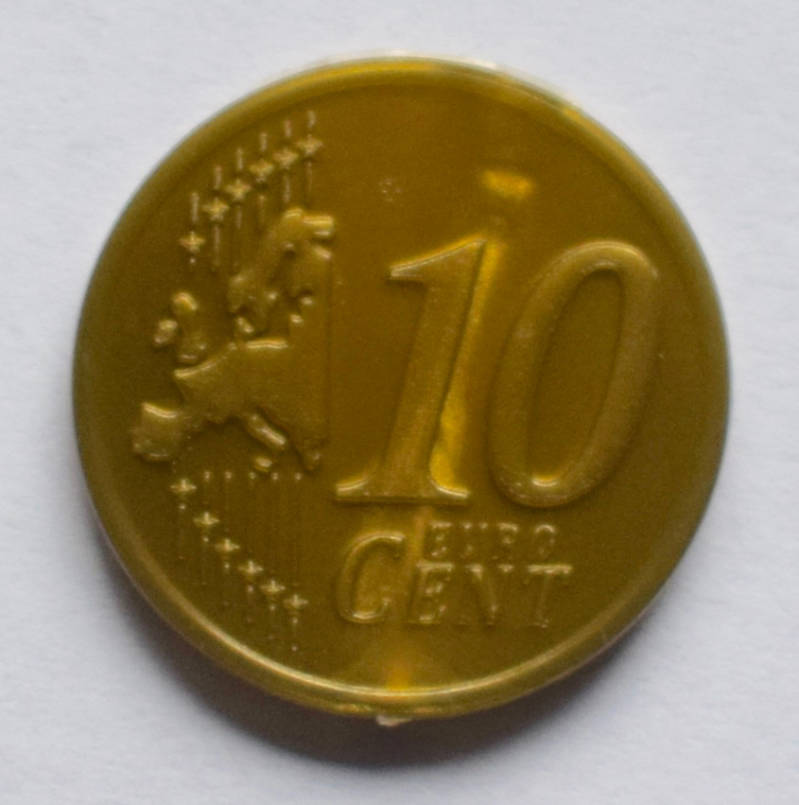 Jegro serie 4, 10 euro cent.