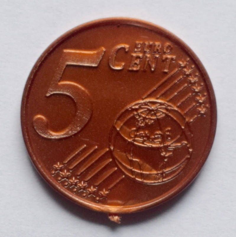 Jegro serie 4, 5 euro cent.