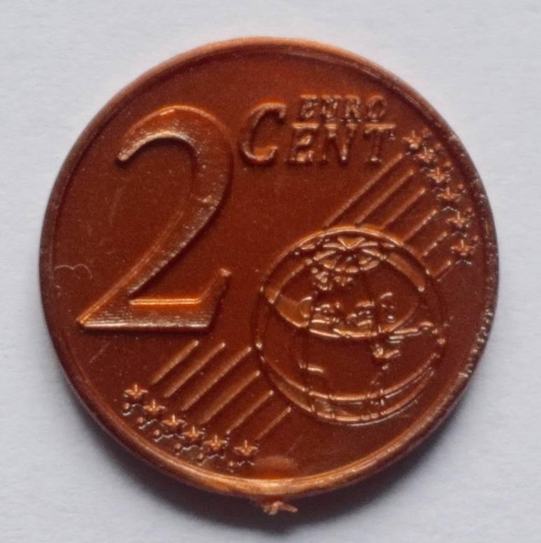 Jegro serie 4, 2 euro cent.