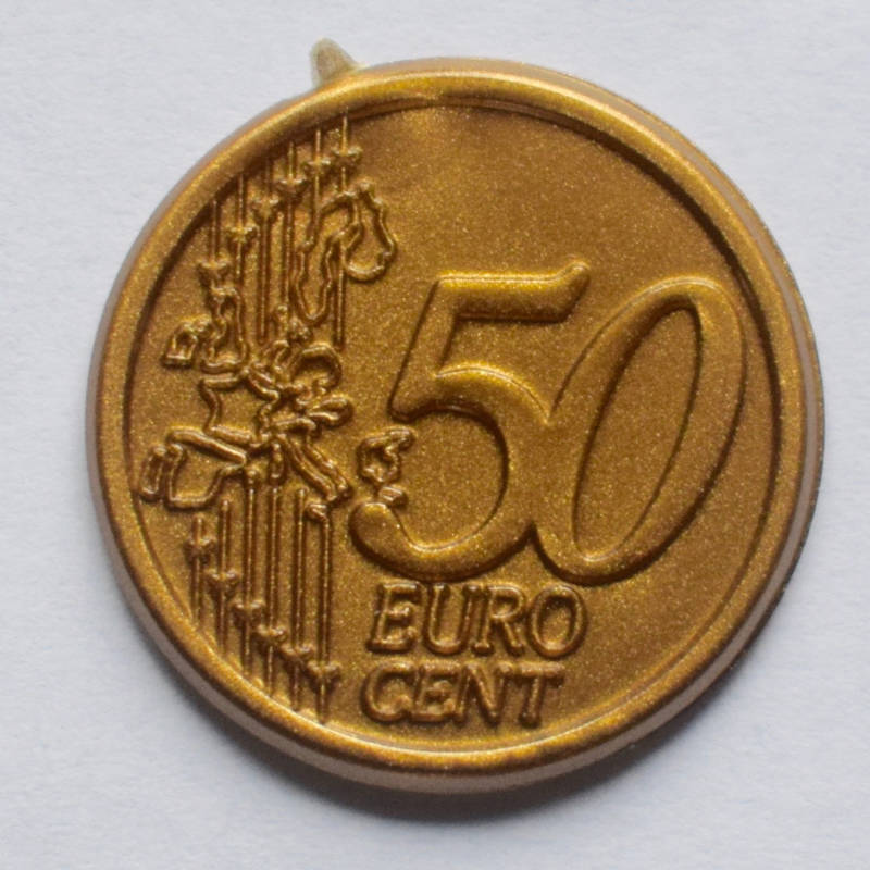 Jegro serie 3, 50 euro cent.