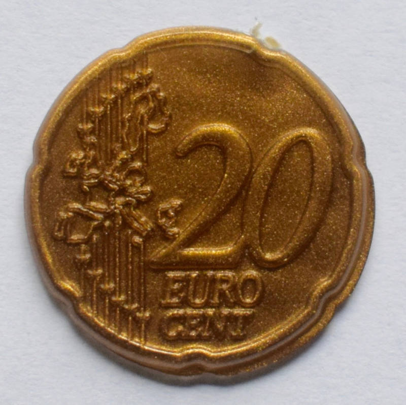 Jegro serie 3, 20 euro cent.