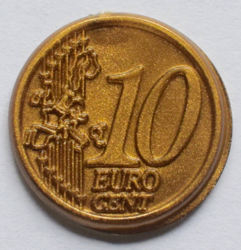 Jegro serie 3, 10 euro cent.
