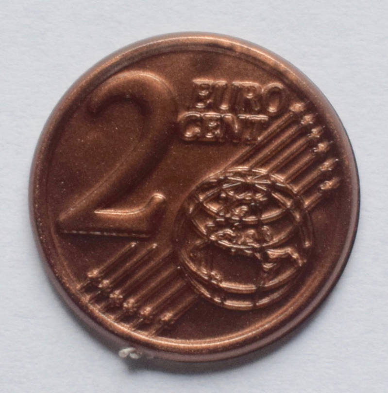 Jegro serie 3, 2euro cent.