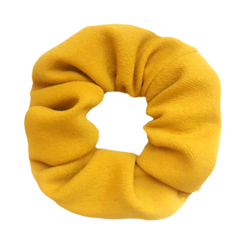 Fair trade | Dutchie Scrunchie | Geel