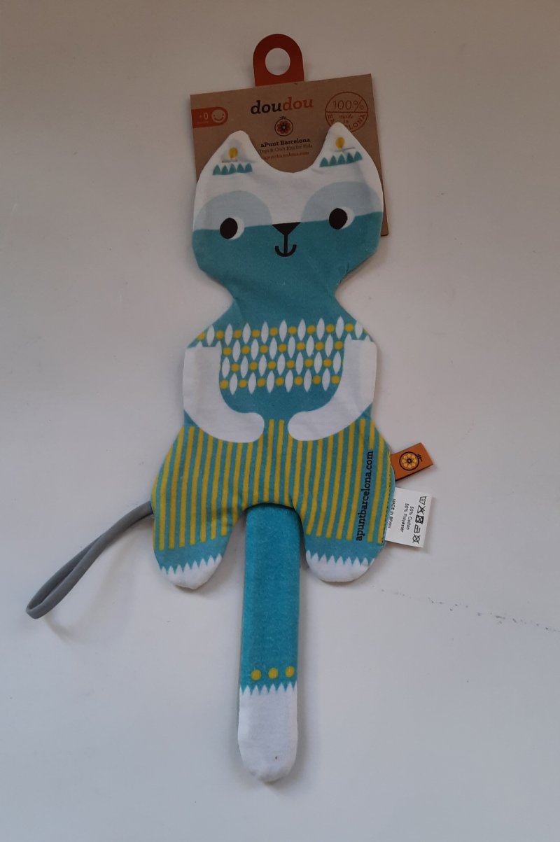 Baby knuffel Doudou, poes