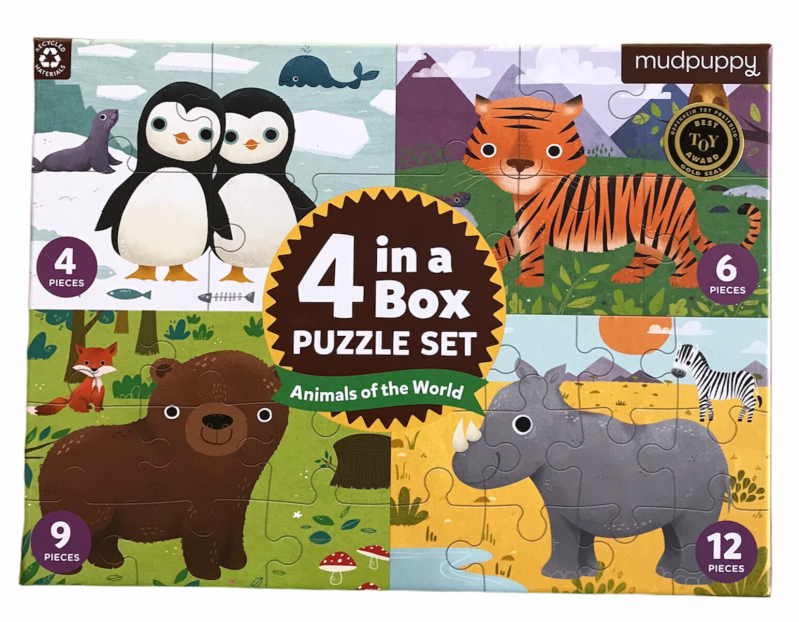 Puzzel 4 in a box
