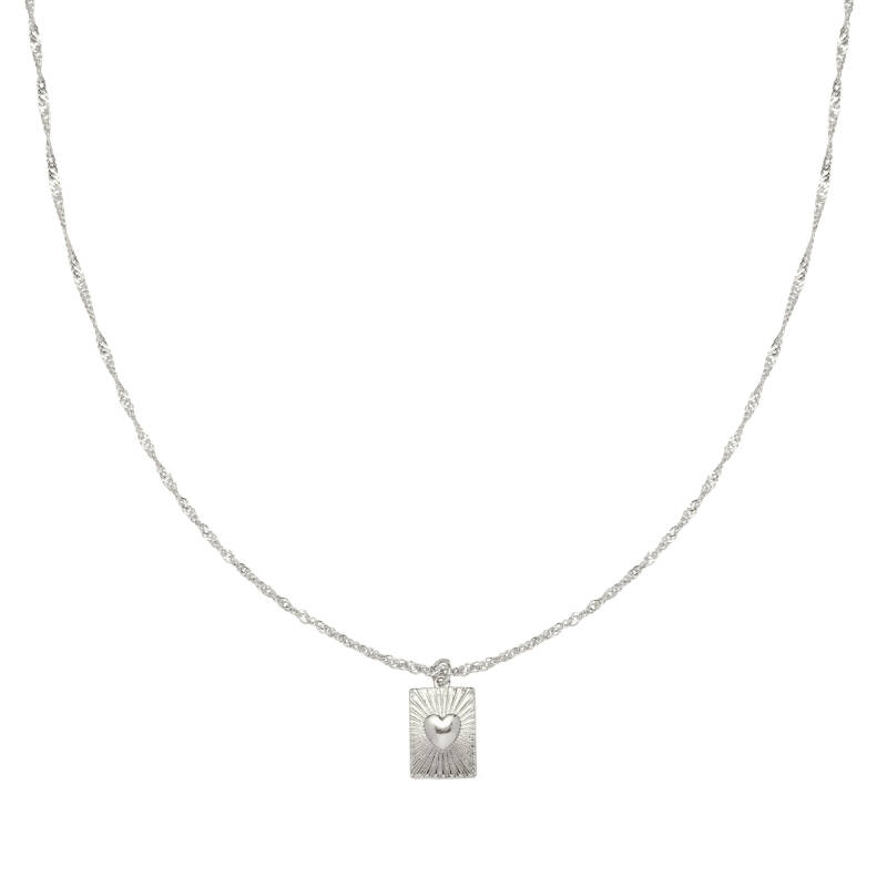 Ketting Love Me - Zilver
