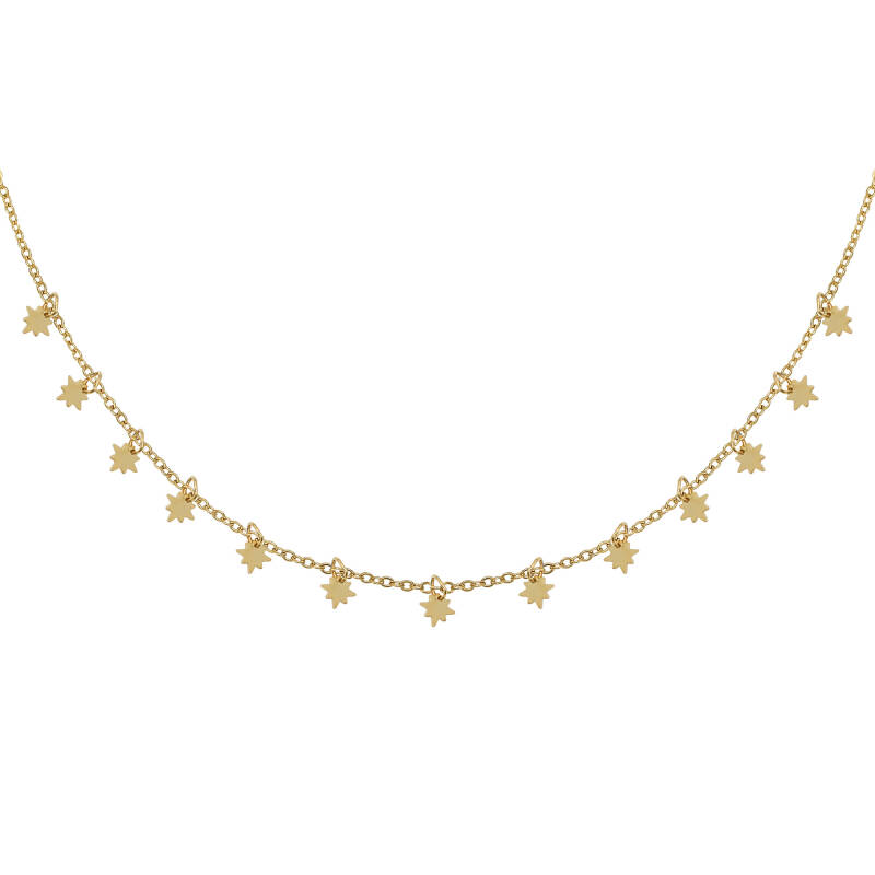 Universe Star Necklace - Gold