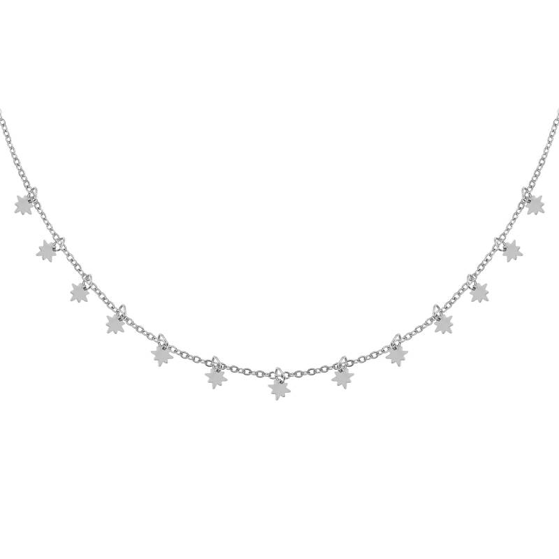 Universe Star Necklace - Silver
