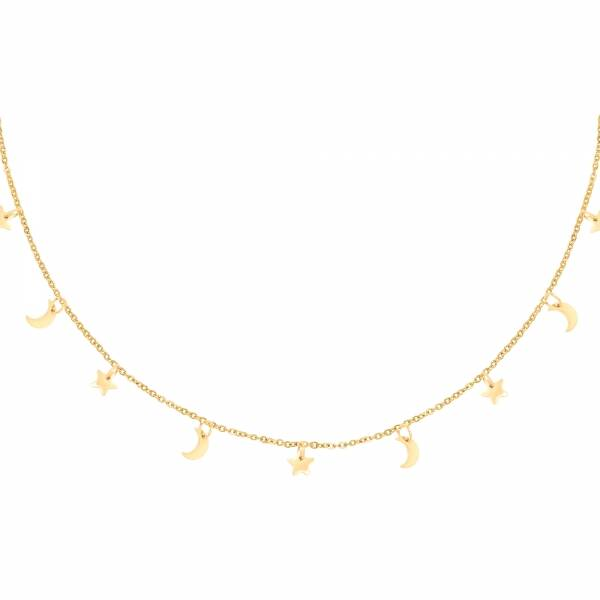 Night Necklace - Gold