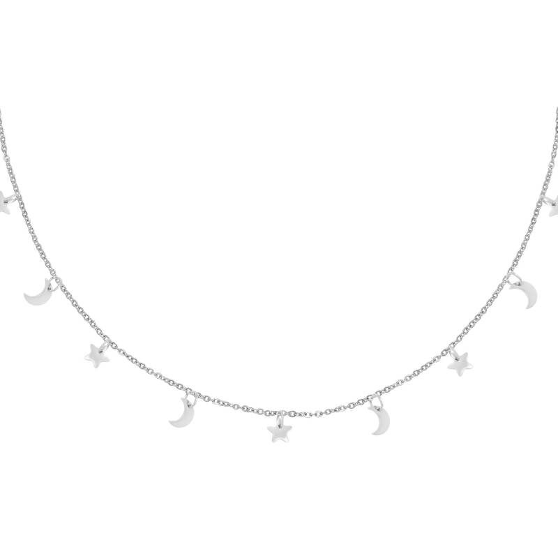 Night Necklace - Silver