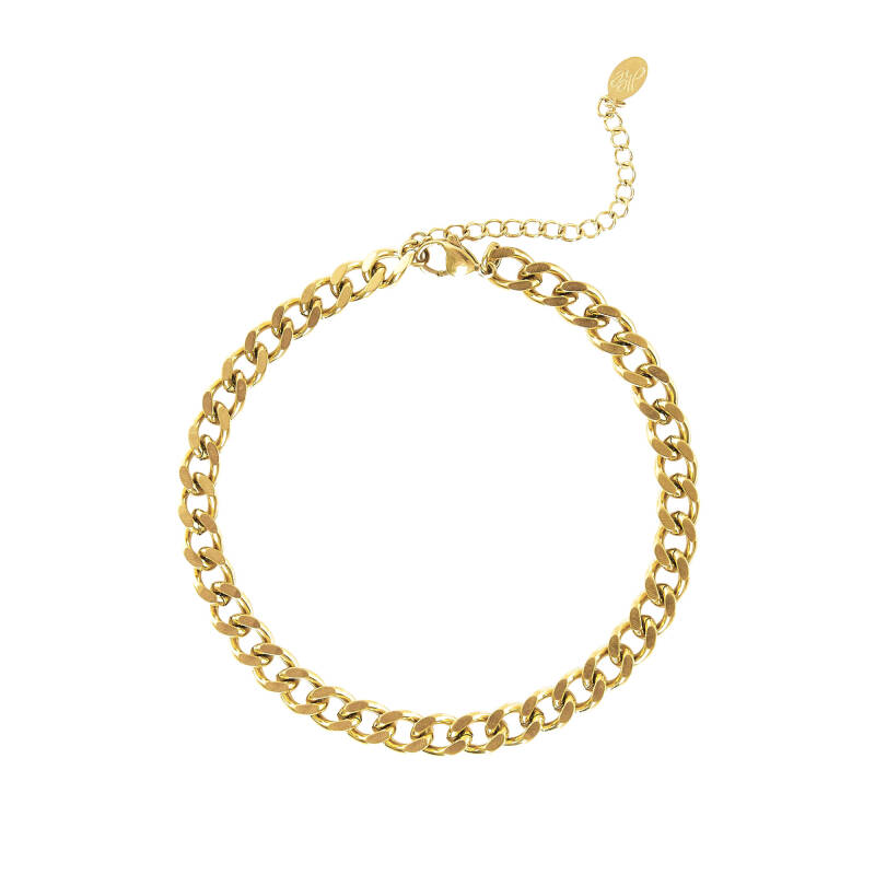 Bold Chain Anklet - Gold